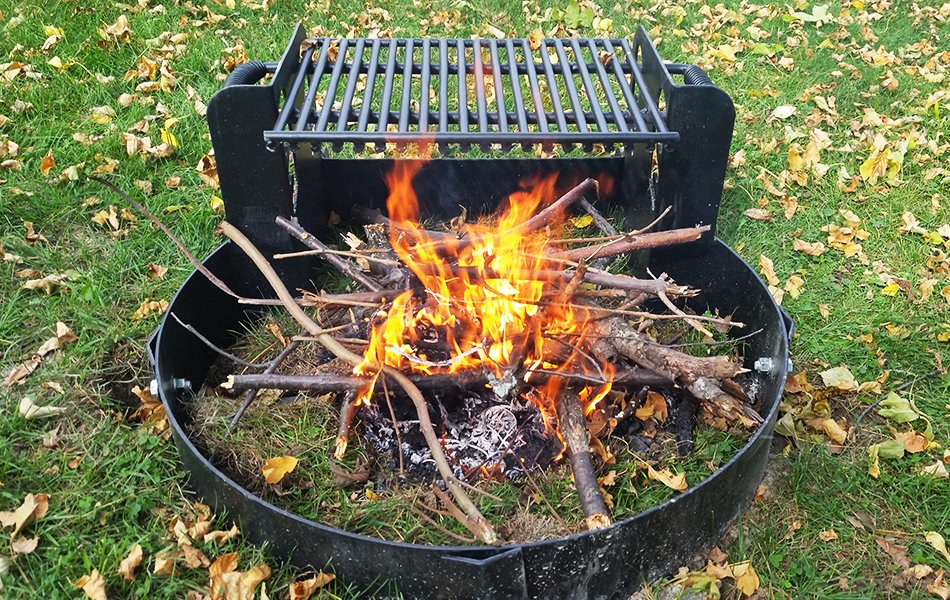 park grills fire ring