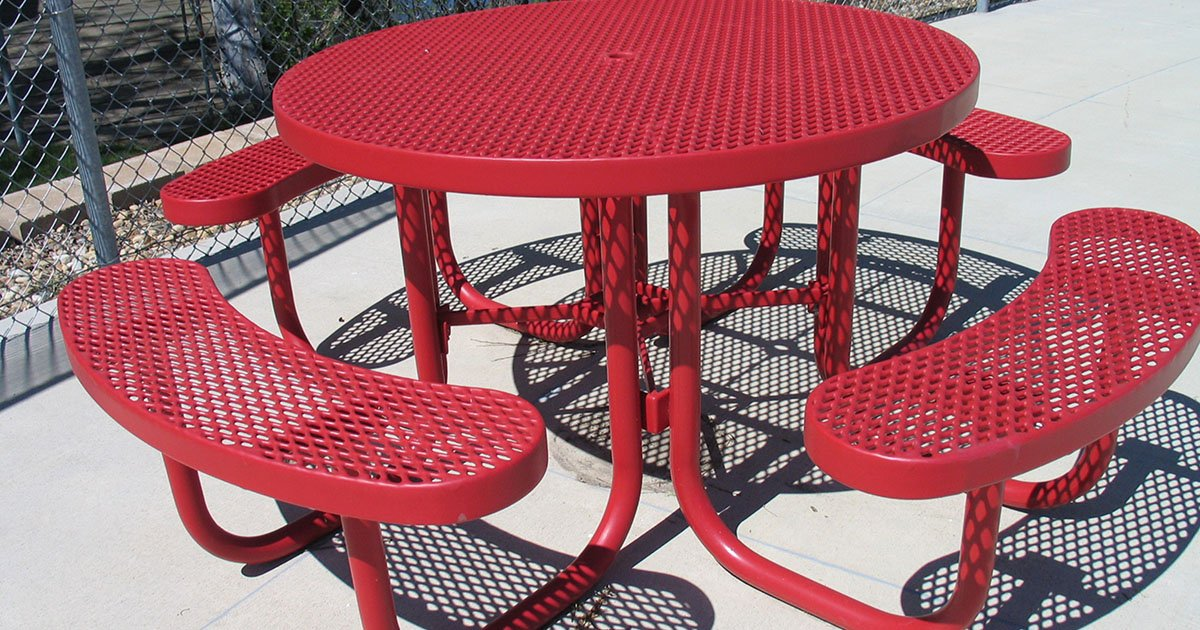Round Picnic Tables Commercial Grade, Lifetime Round Picnic Table