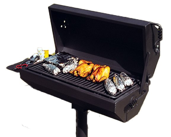 covered grills