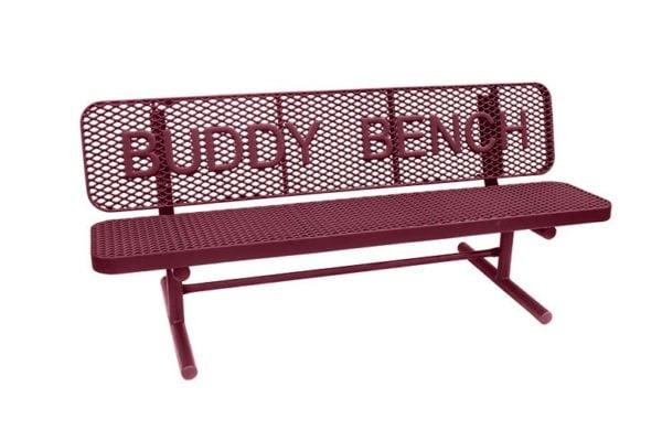 buddy bench 8 ft