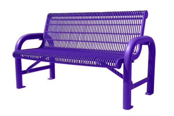 contoured memorial benches