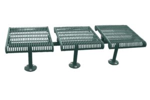 surface mount leg posts bolt onto concrete