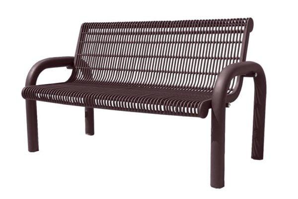 contoured benches