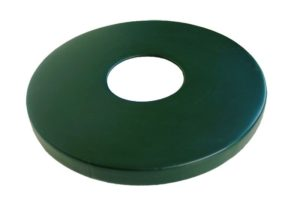 flat receptacle lid