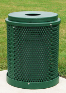 32 gallon garbage can