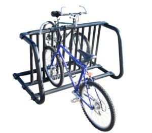 small gate style bike rack