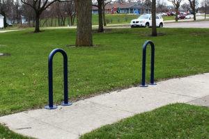 1 loop bike rack