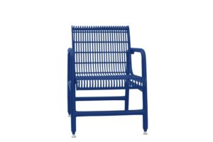 welded rod design patio chairs