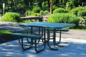 ADA Accessible Picnic Table