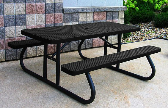Rectangle Picnic Tables With Year Warranty Premier Polysteel - Picnic table hardware kit