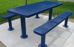 surface mount picnic table