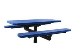 in-ground picnic table