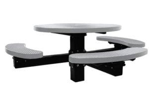 3 seat pedestal