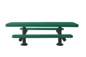 double pedestal accessible picnic table