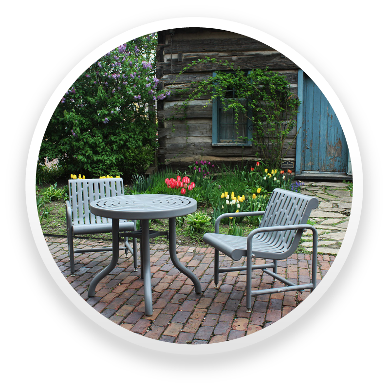 patio tables and chairs with 20 year