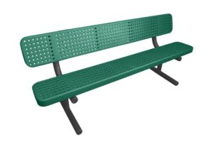 perforated steel seats