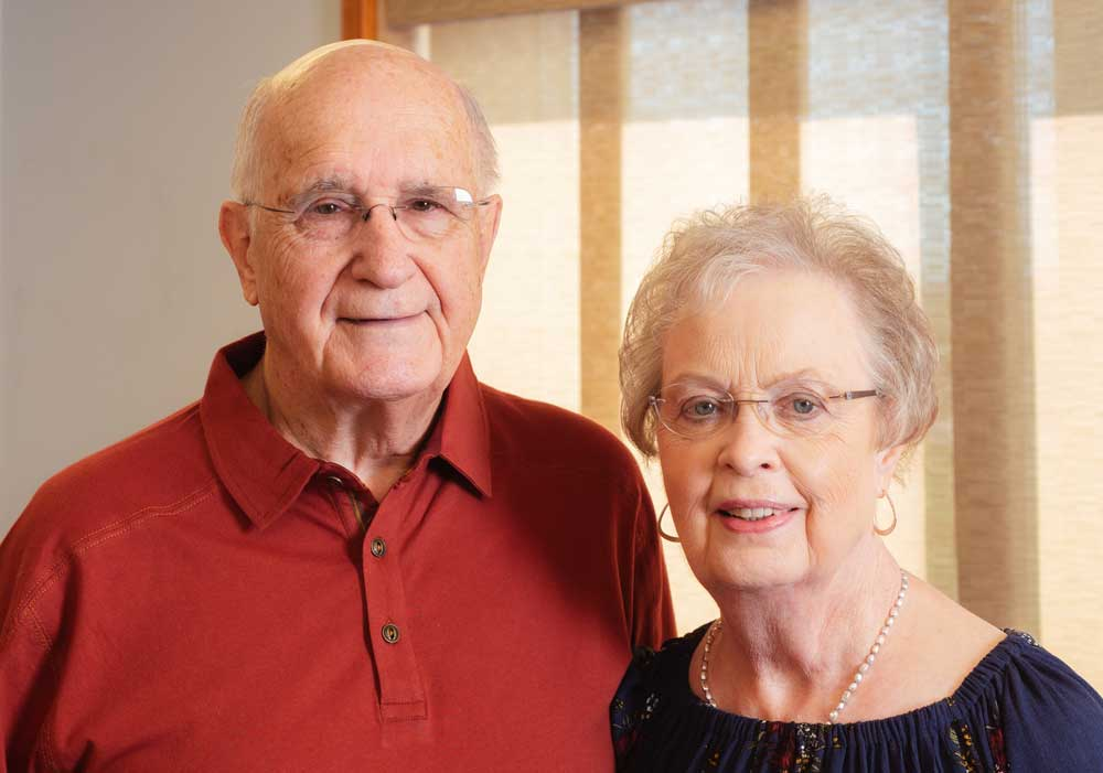 Owners, Allan and JoAnn Stensrud