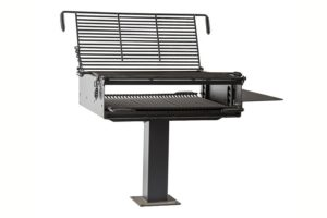 Surface mount group grill