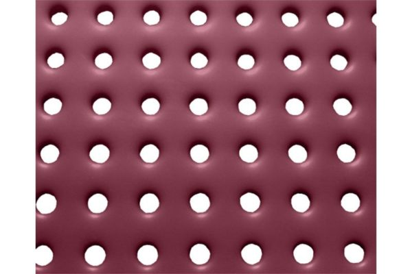 plastisol coated perforated steel