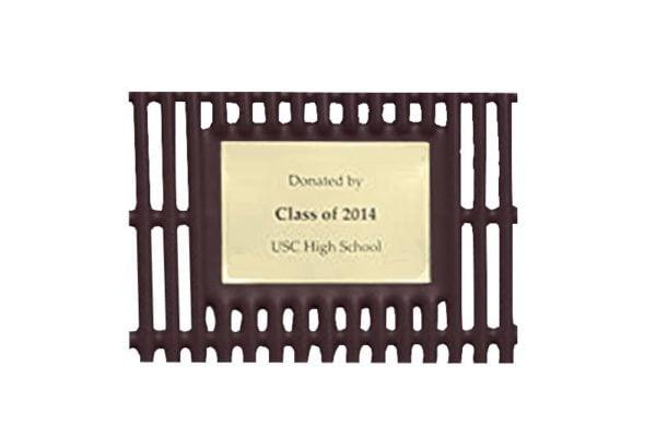 sublimated ink memorial plaque