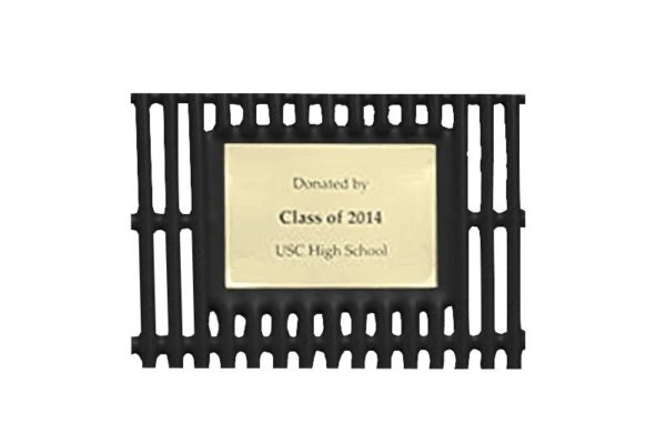 sublimated ink memorial plaque