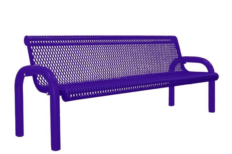 In-Ground Park Bench