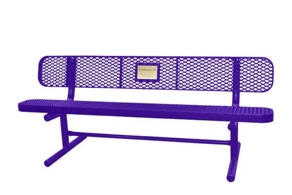 memorial park benches