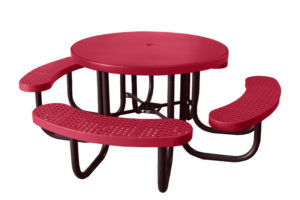 smooth top picnic table