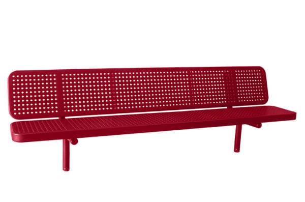 direct-bury park bench