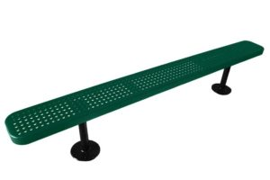 surface mount outdoor bench