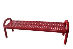 in-ground contour flat bench
