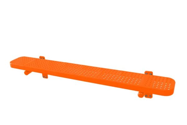 plastisol coated benches