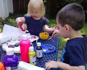 children's picnic table seats 6