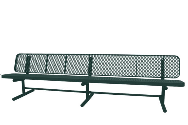 free-standing bench
