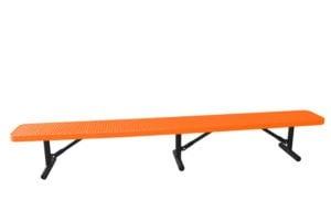 10 foot 100% plastisol coated park bench