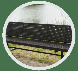 heavy-duty bench