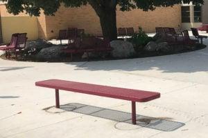 8' bench