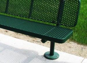 heavy-duty buddy bench