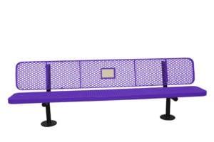 bolt-down surface mount dedication bench