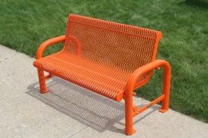 commercial quality contour bench