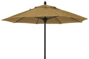 7.5 foot Barley Umbrella black pole