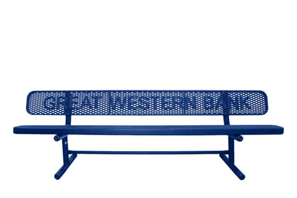 personalized benches
