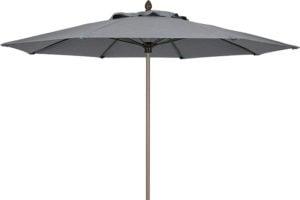 Charcoal 9 foot Umbrella Sahara pole