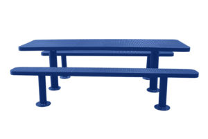 outdoor picnic tables